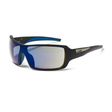 Bolle Diamondback Sunglasses in Matte Black/Blue - Overstock