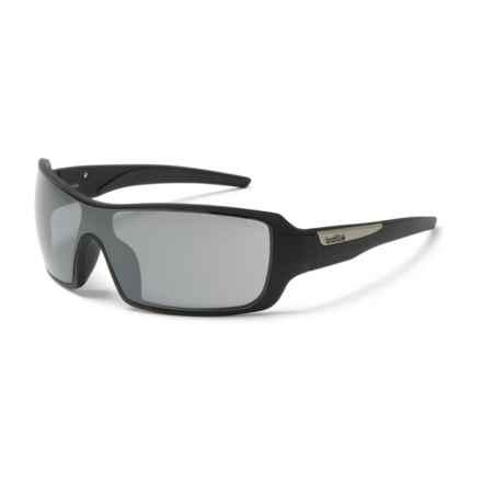 Bolle Diamondback Sunglasses in Matte Black/Gun - Overstock