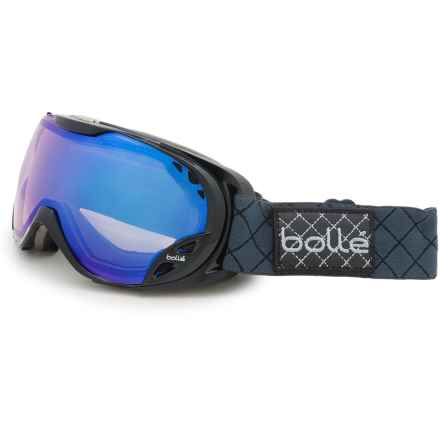 Bolle Duchess Ski Goggles - Photochromic Lens (For Women) in Shiny Black/Modulator Light Control - Closeouts