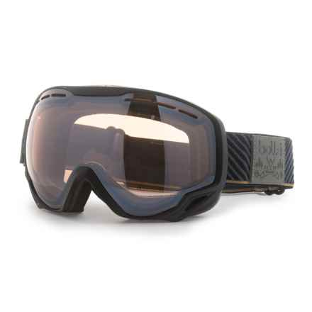 Bolle Emperor Ski Goggles - Photochromic Lens (For Men) in Black/ Stripes Citrus Gun - Closeouts