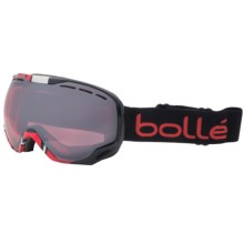 Bolle Emperor Snowsport Goggles in Black/Red Crackle - Closeouts