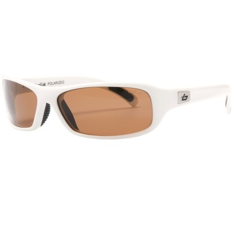 Bolle Fang Sunglasses - Polarized in Shiny White/A-14