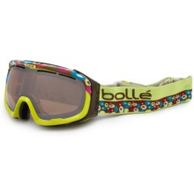 Bolle Fathom Snowsport Goggles in Lime/Amber Gun - Closeouts