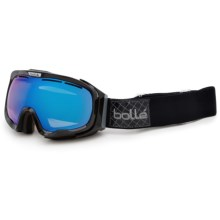 Bolle Fathom Snowsport Goggles - Polarized in Shiny Black Patch/Aurora - Closeouts