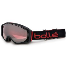 Bolle Gravity Ski Goggles in Matte Black/Vermillon Gun - Closeouts