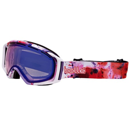 Bolle Gravity Ski Goggles Modulator Vermillion Blue Lens Photochromic
