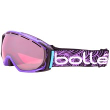 Bolle Gravity Snowsport Goggles in Jacobellis/Vermillion Gun - Closeouts