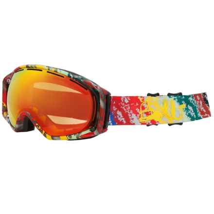 Bolle Gravity Snowsport Goggles in Mural Fire/Orange 35 - Closeouts