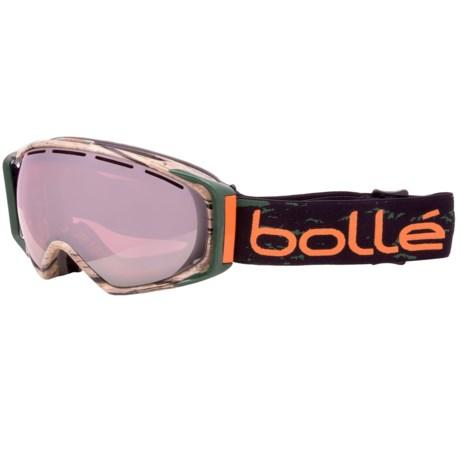 Bolle Gravity Snowsport Goggles in Seth Wescott/Vermillion Gun
