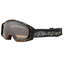 Bolle Gravity Snowsport Goggles - Vermillion Lens in Earth Stones/Amber Gunmetal - Closeouts
