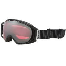 Bolle Gravity Snowsport Goggles - Vermillion Lens in Pinstripe/Vermillion Gun - Closeouts