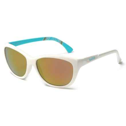 Bolle Greta Sunglasses (For Women) in Shiny White/Rose Gold - Closeouts
