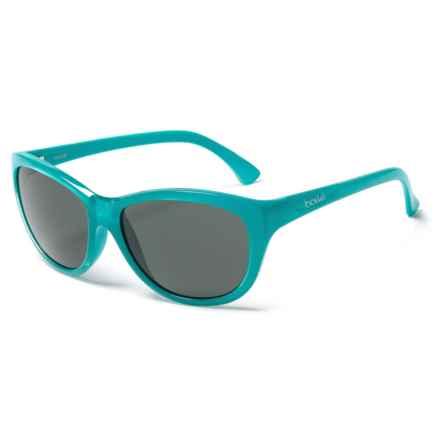 Bolle Greta Sunglasses - Polarized Mirror Lenses in Shiny Turqupose - Overstock