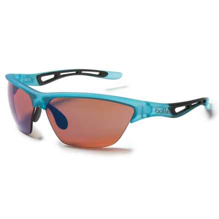 Bolle Helix Sunglasses in Satin Crystal Blue/Rose Blue - Closeouts
