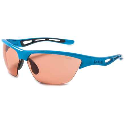 Bolle Helix Sunglasses - Photochromic Lenses in Shiny Blue/Modulator Rose - Closeouts
