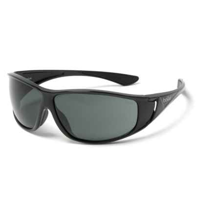 Bolle Highwood Sunglasses in Shiny Black - Overstock