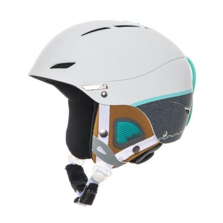 Bolle Juliet Ski Helmet (For Women) in Soft White/Grey