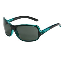Bolle Kassia Sunglasses - Polarized (For Women) in Shiny Black Blue/True Neutral Smoke - Closeouts