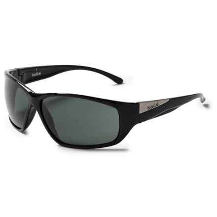 Bolle Keel Sunglasses in Shiny Black/Tns - Closeouts