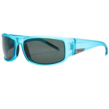 Bolle King Sunglasses - Polarized in Satin Crystal Blue/Tns - Closeouts