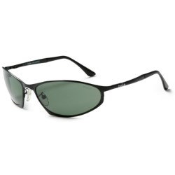 Bolle Limit Sunglasses - Polarized in Matte Black/Axis