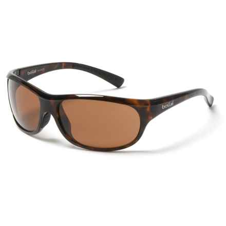 Bolle Longwell Sunglasses - Polarized in Shiny Tortoise - Overstock