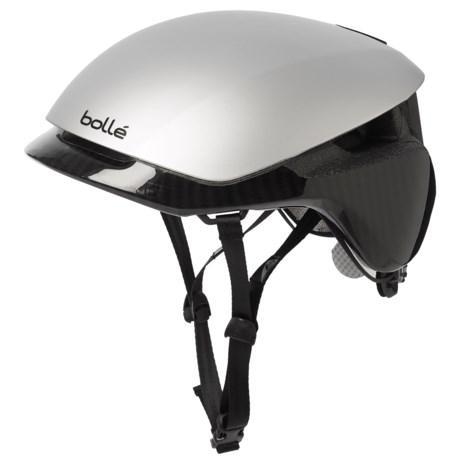 Bolle Messenger Bike Helmet (For Men and Women) in Silver/Carbon