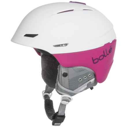Bolle Millennium Ski Helmet in Soft White/Plum - Closeouts