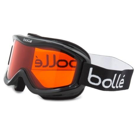 0f93423f4a Bolle Mojo Snowsport Goggles in Shiny Black/Citrus