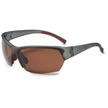 Bolle Motive Sunglasses - Polarized in Satin Crystal Gray/A-14 - Closeouts