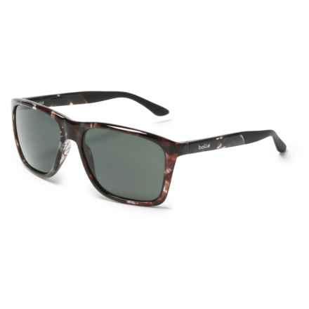 Bolle Nakoda Sunglasses in Shiny Black/Tortoise Tns - Overstock