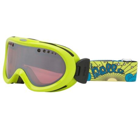Bolle Nebula Snowsport Goggles - Photochromic Lens in Green/Vermillion Gun