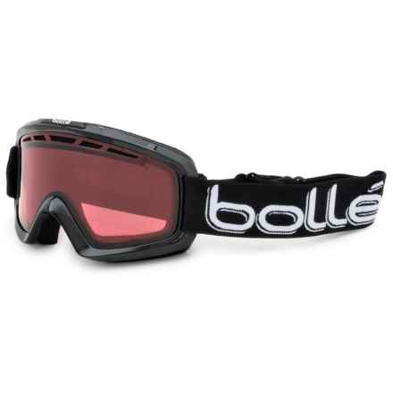 Bolle Nova 2 Gloss Ski Goggles in Shiny Black/Vermillon - Closeouts