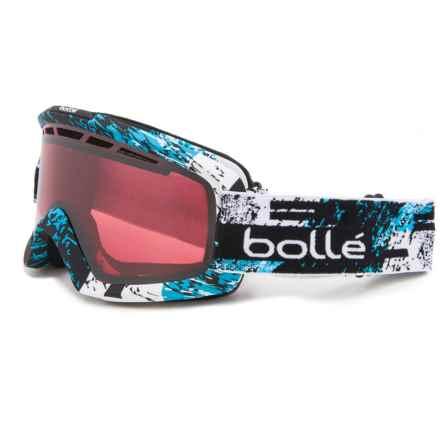 Bolle Nova II Ski Goggles in Black/Blue Zenith/Vermillion Gun - Closeouts
