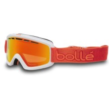 Bolle Nova II Ski Goggles in Matte White Orange/Fire Orange - Closeouts