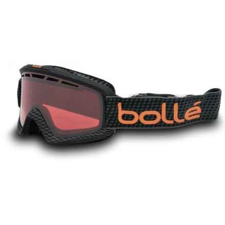 Bolle Nova II Ski Goggles - Vermillion Lens in Matte Carbon/Vermillon Gun - Closeouts