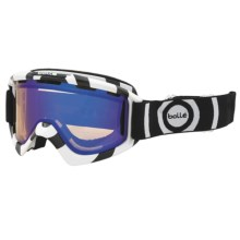 Bolle Nova Snowsport Goggles in Black/White/Aurora - Closeouts
