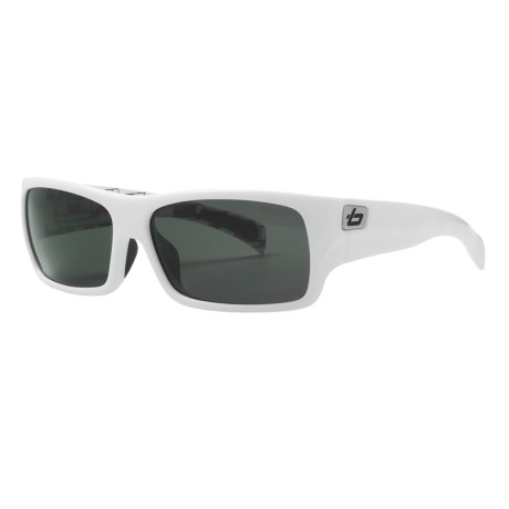 Bolle Oscar Sunglasses - Polarized in White Grey Blocks/Tns