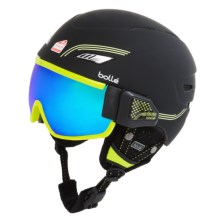 Bolle Osmoz Ski Helmet and Goggles in Black & Green - Closeouts