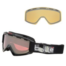 Bolle Phaser Snowsport Goggles - Interchangeable Lens in Black - Closeouts