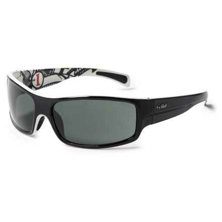 Bolle Piranha Jr. Sunglasses (For Little and Big Kids) in Shiny Black/White/Tns - Closeouts