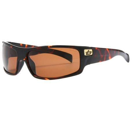 Bolle Piranha Sunglasses - Polarized in Dark Tortoise/A-14