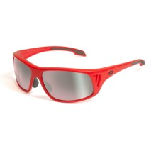 Bolle Rainer Sunglasses in Shiny Red/Photo Rosegun Oleo Af - Closeouts