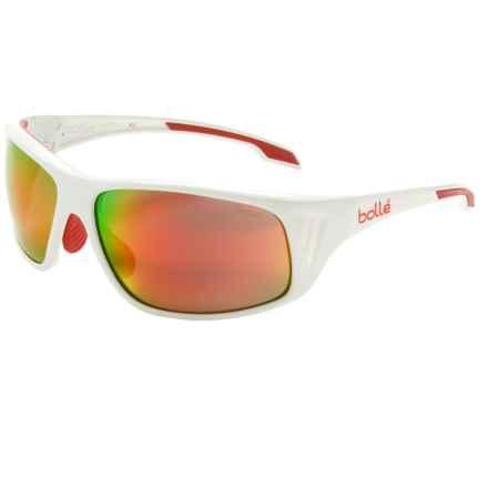 Bolle Rainer Sunglasses in Shiny White Tns Fire - Closeouts