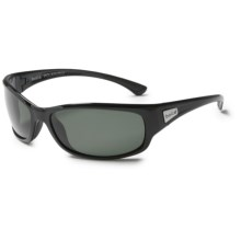 Bolle Ringer Sunglasses - Polarized in Shiny Black/True Neutral Smoke - Closeouts