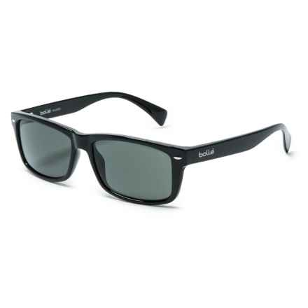 Bolle Riverview Sunglasses - Polarized in Shiny Black - Overstock