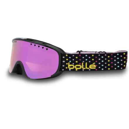 Bolle Scarlett Ski Goggles (For Women in Shiny Black Dots/Rose Gold - Closeouts