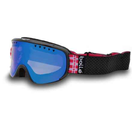 Bolle Scarlett Ski Goggles (For Women in Shiny Black Plaid/Aurora - Closeouts