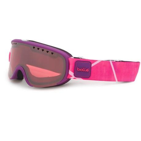Bolle Scarlett Ski Goggles - Mirror Lens (For Women) in Matte Purple/Pink/Vermilon Gun
