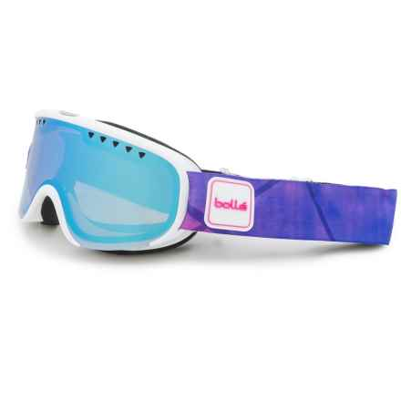 Bolle Scarlett Ski Goggles - Mirror Lens (For Women) in Matte White/Purple/Aurora - Closeouts